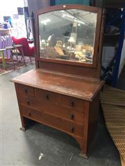 Sale 8676 - Lot 1160 - Mirrored Back Dresser