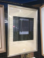 Sale 8707 - Lot 2031 - Joy Hutton (1921 - ) - Beyond, 1972 screenprint ed.6/7 58.5 x 40.5cm (frame) signed lower right