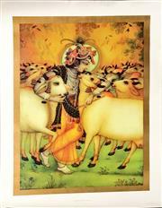 Sale 8797 - Lot 2089 - Two Krishna Prints -