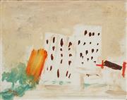 Sale 8838A - Lot 5142 - Victor Rubin (1950 - ) - Manly Flats, 1975 20 x 26cm