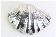Sale 8860V - Lot 46 - An Australian Sterling Silver Overlay Clam Shell,