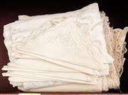 Sale 8882H - Lot 18 - A drawer full of napiery
