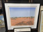 Sale 8924 - Lot 2009 - Max Miller - Corner Country, Olive Downsscreenprint, ed. 43/50, 68 x 80cm (frame) signed