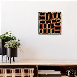 Sale 9171A - Lot 5100 - WALALA TJAPALTJARRI (c1960s - ) Tingari acrylic on linen 30 x 30 cm (stretched and ready to hang) signed verso, Artery label verso C...