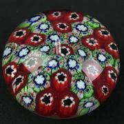 Sale 8402D - Lot 49 - Murano Millefiori Paperweight (Height - 5.5cm)