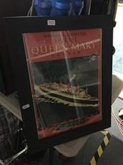 Sale 8690 - Lot 2070 - Queen Mary Print