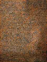 Sale 8810A - Lot 5026 - Gloria Petyarre (c1945 - )  - Medicine Leaves, 2004  181 x 137cm (stetched and ready to hang)