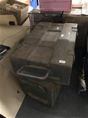 Sale 8819 - Lot 2283 - Metal Ammo Boxes x 2