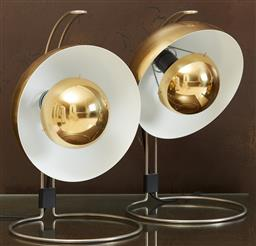 Sale 9120K - Lot 35 - A pair of Verner Panton VP4 Flower pot lamps for &Tradition, Height 40cm.