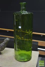 Sale 8289 - Lot 1002 - Spanish Green Glass Vase