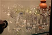Sale 8369 - Lot 79 - Edinburgh Crystal Glasses with Others Incl Webb -