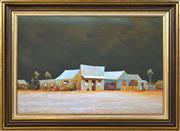 Sale 8382 - Lot 533 - John Pointon (1936 - ) - Street in Town, 1972 50 x 75cm