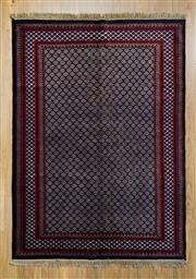 Sale 8566C - Lot 78 - Indian Silk & Wool 213cm x 153cm