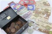 Sale 8635 - Lot 71 - Assorted Coins and Notes incl Uncirculated and $5 Australian