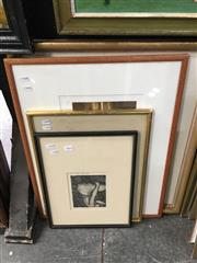 Sale 8674 - Lot 2060 - Group of (4) Prints by Various Artists (framed/various sizes)