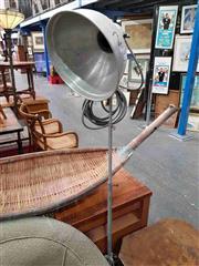 Sale 8912 - Lot 1014 - Pair of Industrial Style Floor Lamps