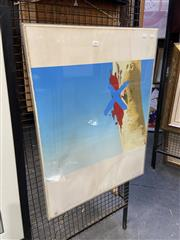 Sale 8927 - Lot 2031 - Ian Pearson - Crossed Gum 1979 screenprint, (AF) signed