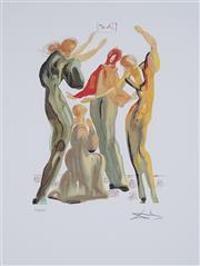 Sale 8985A - Lot 5022 - Salvador Dali (1904 - 1989) - La Danse 63.5 x 50 cm (frame: 104 x 87 x 3 cm)
