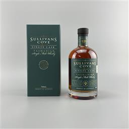 Sale 9165 - Lot 680 - Sullivans Cove Special Single Cask Single Malt Tasmanian Whisky - barrel no. TD0284, bottle no. 209/438, filled on 29/05/2008, dec...