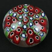 Sale 8402D - Lot 50 - Murano Millefiori Paperweight (Height - 5.5cm)