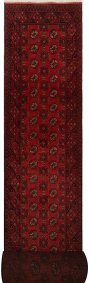 Sale 8447C - Lot 86 - Afghan Turkman Long Runner 780cm x 80cm
