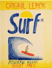 Sale 8575 - Lot 538 - Noel McKenna (1956 -) - Surf 19.5 x 14.5cm