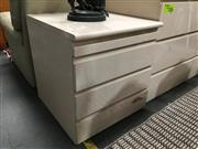 Sale 8851 - Lot 1061 - Pair of High Gloss Bedsides