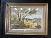 Sale 8927 - Lot 2069 - M.Bush - Landscape Watercolour 35cm x 50cm