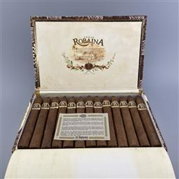 Sale 9250W - Lot 752 - Vegas Robaina Unicos Cuban Cigars - box of 25 cigars, stamped January 2001