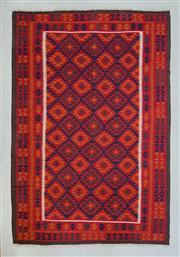 Sale 8472C - Lot 99 - Afghan Maymana Kilim 300cm x 200cm