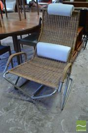Sale 8528 - Lot 1058 - Tecta Chrome Framed Lounge Chair