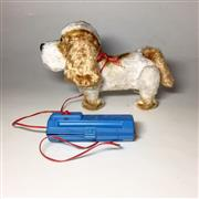 Sale 8878T - Lot 96 - Japanese Battery Operated Toy Dog that Walks Forwards and Backwards with Light Up Eyes