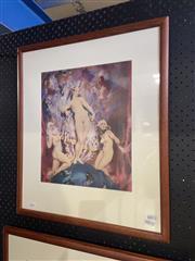 Sale 8924 - Lot 2016 - Norman Lindsay - The Dear Thingsdecorative print, 58 x 50cm (frame)