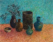 Sale 8980A - Lot 5033 - Una Foster (1912 - 1996) - More Favourite Shapes, 1994 46.5 x 58.5 cm (frame: 64 x 77 x 2 cm)
