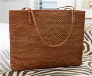 Sale 9023H - Lot 90 - A woven womens beach bag