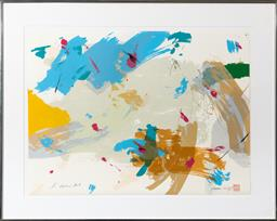 Sale 9256H - Lot 74 - Graham Kua - Harbour Mist signed and numbered