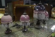 Sale 8542 - Lot 1015 - Collection of Five Table Lamps