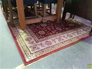 Sale 8620 - Lot 1083 - Red Tone Floor Rug (230 x 160cm)