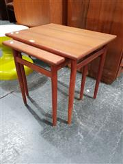 Sale 8684 - Lot 1024 - Nest of Two Seffle Möbelfabrik AB Side Tables