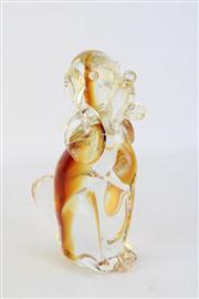 Sale 8818 - Lot 36 - Silvano Signoretto Art Glass Dog H: 23cm