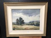 Sale 8789 - Lot 2168 - Mary Neil, Rainclouds, Crookwell, watercolour, 53 x 63.5cm (frame), signed lower right
