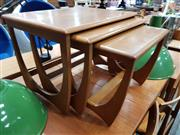 Sale 8801 - Lot 1097 - Nest of 3 G-Plan Occasional tables