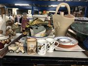 Sale 8819 - Lot 2465 - Collection of Sundries including Bowls, Vases, Mugs, etc.