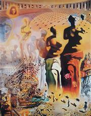 Sale 8985A - Lot 5025 - Salvador Dali (1904 - 1989) - Hallucinogenic Toreador 76 x 61 cm (frame: 104 x 87 x 3 cm)