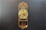 Sale 8288 - Lot 43 - Oak Wall Clock