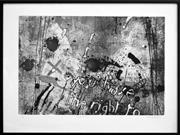Sale 8347A - Lot 58 - Basil Hadley (1940 - 2006) - Wall Theme V, 1977 49.5 x 74cm