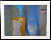 Sale 8382 - Lot 503 - Cynthia Breusch (1959 - ) - Untitled, 1987 79.5 x 90.5cm