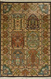 Sale 8424C - Lot 85 - Kashmiri Silk 150cm x 100cm