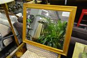 Sale 8507 - Lot 1076 - Timber Framed Mirror