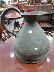 Sale 8559 - Lot 1057 - Large Copper Measure, with loop handle